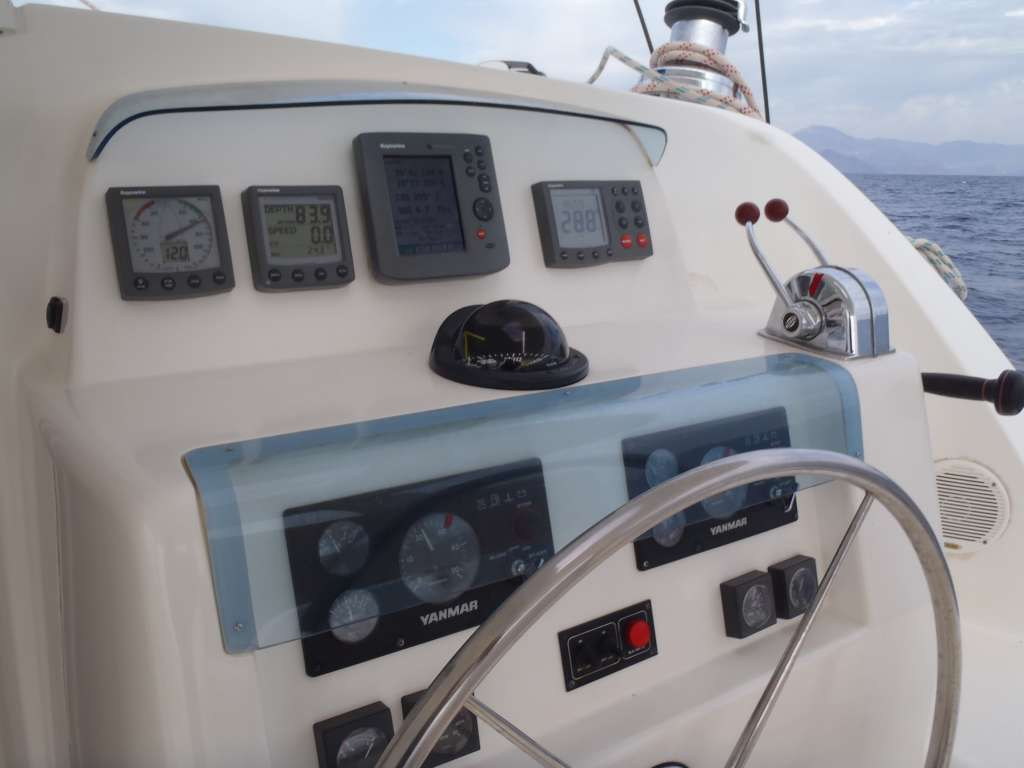 Skippertraining Katamaran